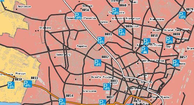Koncepcja Funkcjonalno – Użytkowa zintegrowanego systemu tras rowerowych Szczecińskiego Obszaru Metropolitalnego