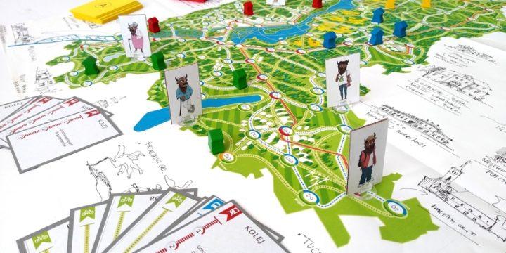 Przetestuj regionalną grę planszową