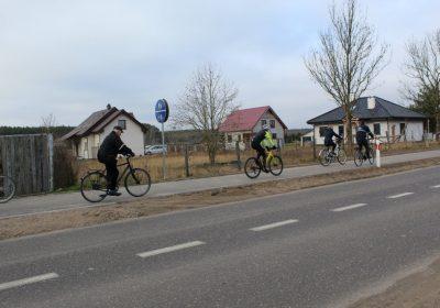 Nowa trasa rowerowa w Kobylance