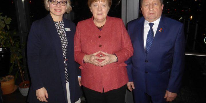 Spotkanie z Kanclerz Niemiec