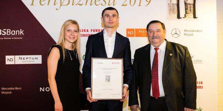 Galan Logistic wyróżniony w konkursie Perły Biznesu 2019