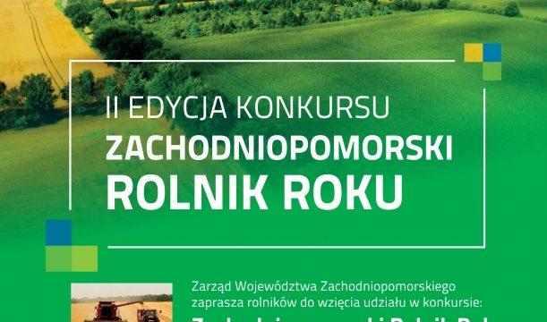 "Rusza konkurs ""Zachodniopomorski Rolnik Roku """