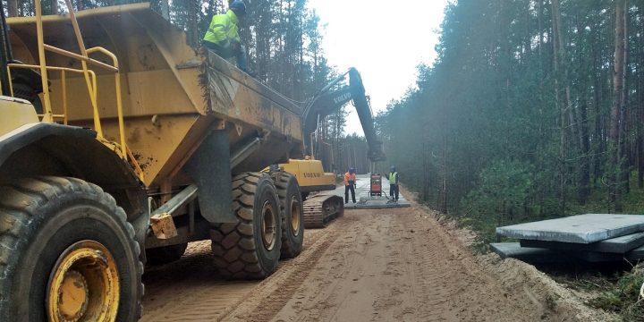 Postęp prac przy budowie tunelu w Świnoujściu