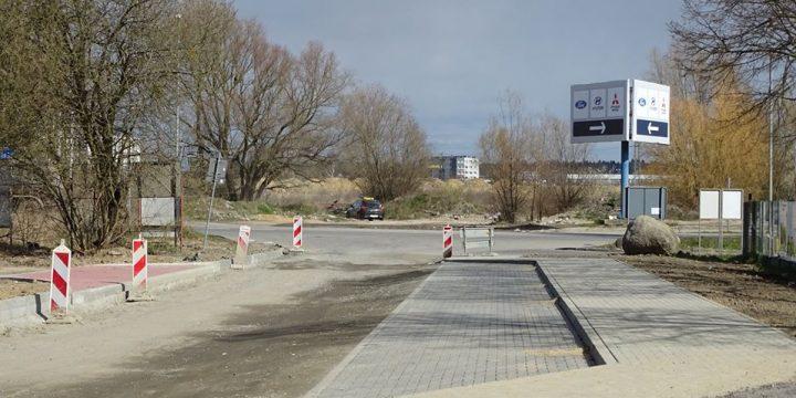 Przebudowa ulicy Cedrowej w Warzymicach