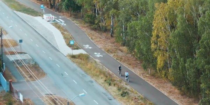 Połączenie ścieżek rowerowych z Dobrej do Szczecina