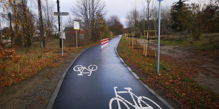 Nowa droga rowerowa z Kijewa do Jezierzyc