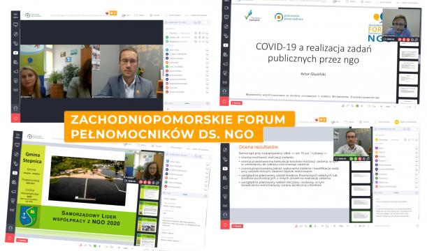 Online o współpracy z organizacjami pozarządowymi