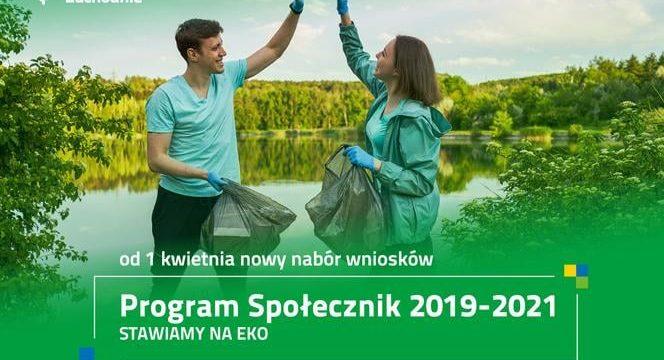 Od 1 kwietnia rusza nabór wniosków Programu Społecznik