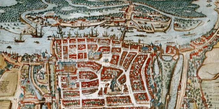 Wystawa dot. rozwoju przestrzennego miasta Szczecina