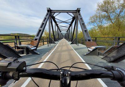 Dawny most w Siekierkach otwarty