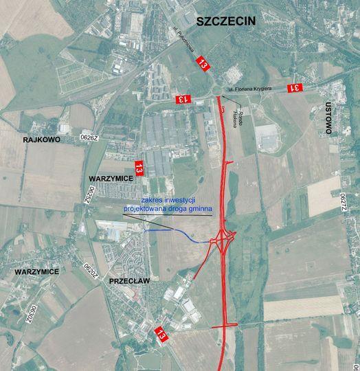 mapa połaczenia