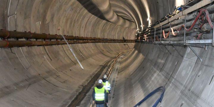 Tunel w Świnoujściu coraz dłuższy