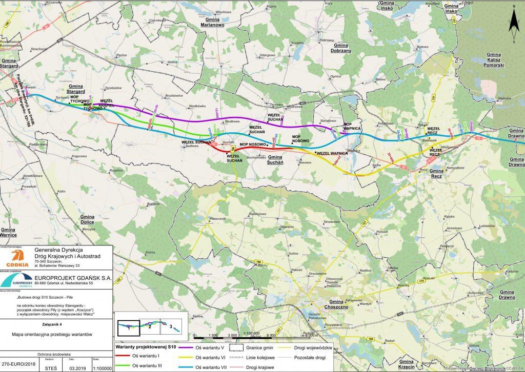 planowany  przebieg-mapa