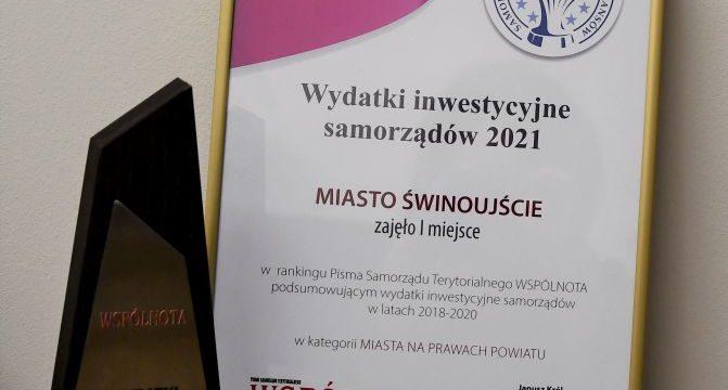 Świnoujście inwestuje najwięcej w Polsce.